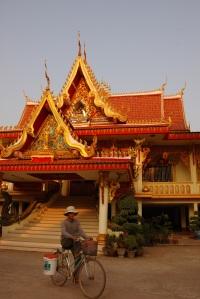 Wat in Vientiane, Laos