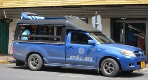 Songtaew in Nakhon Si Thammarat