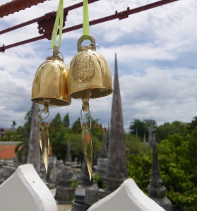Bells at Wat in Nakhon Si Thammarat